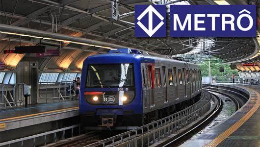 vagas de empregos metrô de São Paulo