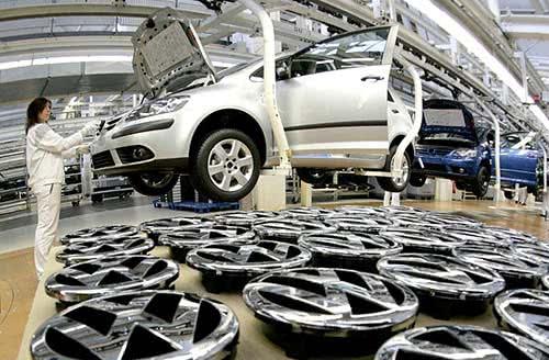 empregos Fábrica da VW