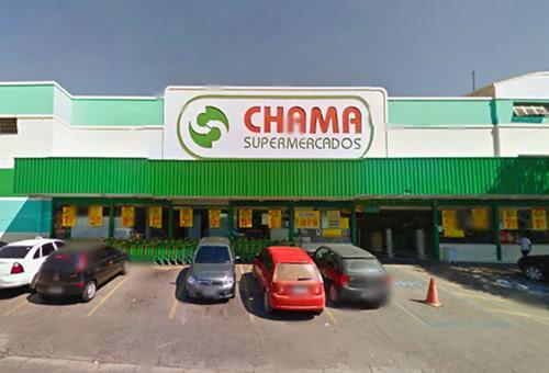 supermercado chama vagas